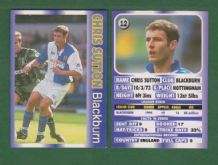 Blackburn Rovers Chris Sutton England 12
